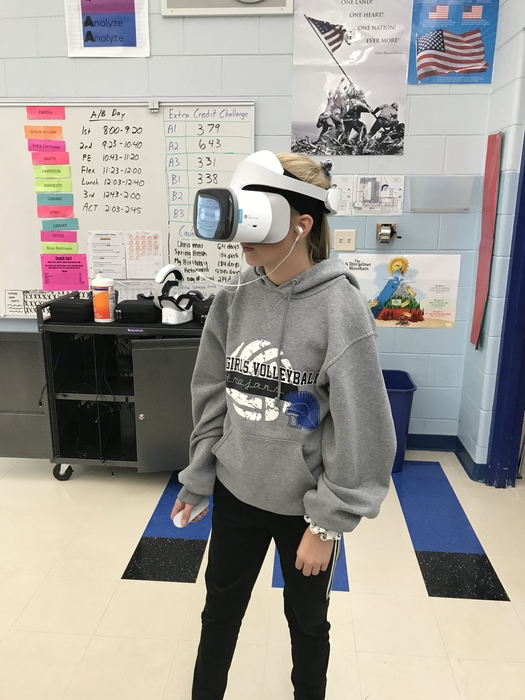 VR field trip today!