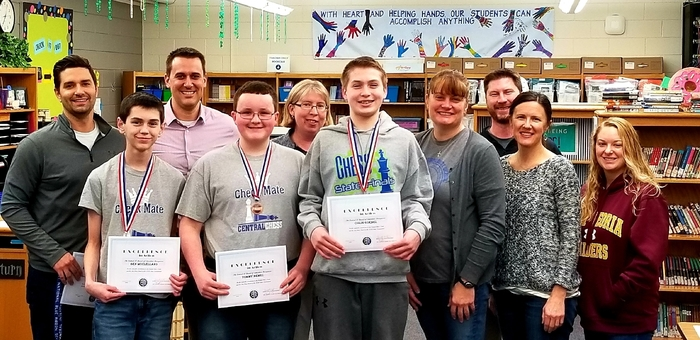 State Chess Team Placers