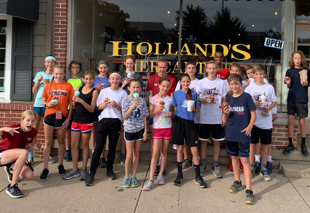 Ice cream at Holland's!