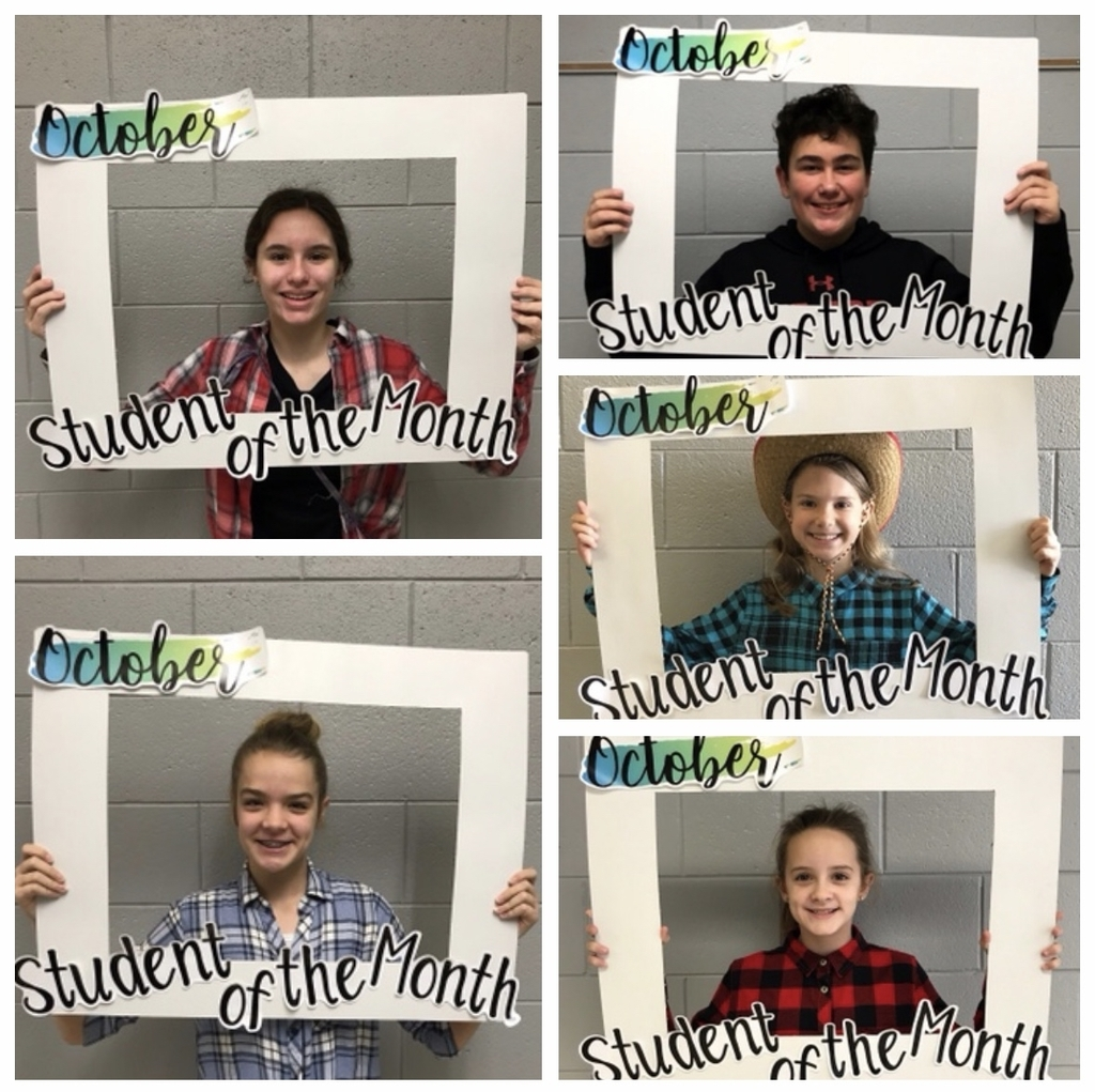Students of the Month October
